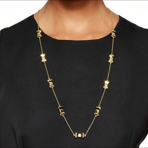 Kate Spade 'Take a Bow' Gold Tone Scatter Necklace